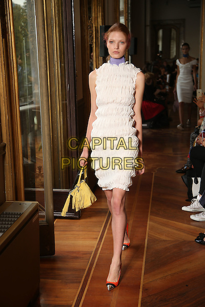 ANDREA INCONTRI<br /> Milan Fashion Week, Ready to Wear,Spring Summer 2016, Milan, Italy September 27, 2015.<br /> CAP/GOL<br /> &copy;GOL/Capital Pictures