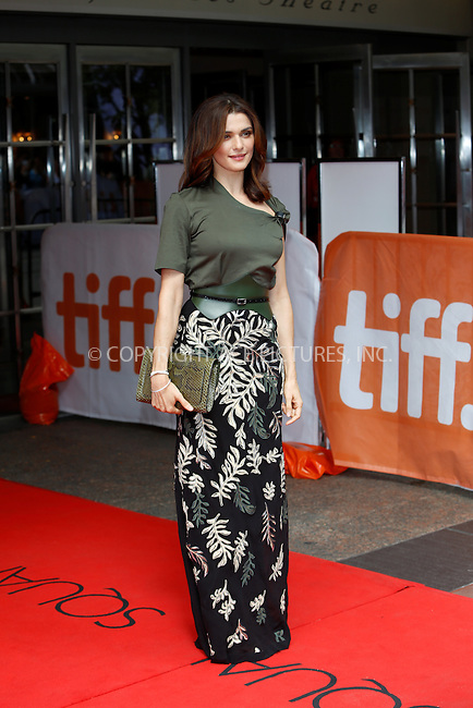WWW.ACEPIXS.COM<br /> <br /> September 11 2015, Toronto<br /> <br /> Actress Rachel Weisz attends the premiere of The Lobster during the 40th Toronto International Film Festival, TIFF, at the Princess of Wales Theatre on September 11 2015 in Toronto, Canada<br /> <br /> <br /> By Line: Famous/ACE Pictures<br /> <br /> <br /> ACE Pictures, Inc.<br /> tel: 646 769 0430<br /> Email: info@acepixs.com<br /> www.acepixs.com