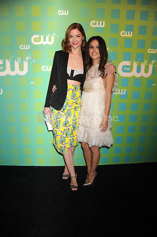Jaime King and Rachel Bilson at The CW Network's 2012 Upfront at New York City Center on May 17, 2012 in New York City. . Credit: Dennis Van Tine/MediaPunch