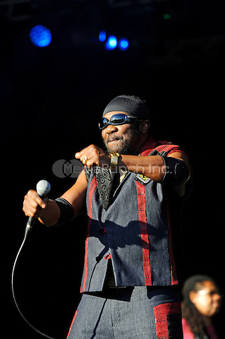 LONDON, ENGLAND - AUGUST 29: Toots(Frederick Hibbert) of 'Toots and the Maytals' performing at 'House of Common', Clapham Common on August 29, 2016 in London, England.<br /> CAP/MAR<br /> &copy;MAR/Capital Pictures /MediaPunch ***NORTH AND SOUTH AMERICAS ONLY***