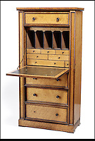 BNPS.co.uk (01202) 558833<br /> Picture: Bonhams<br /> <br /> A Victorian sectretaire Wellington chest, est &pound;3,000<br /> <br /> It is the ultimate garden sale -- The aristocrat Cunliffe-Copeland family are auctioning off millions of pounds of antiques in a unique sale of the entire contents of their stately home Trelissick House near Truro in Cornwall. For generations the family have filled the magnificent The 18th century manor with treasures acquired from travels around the globe.<br /> <br /> 58 years ago the house was left to the National Trust on the condition members of the family could carry on living in the property. But the current incumbent, William Copeland and wife Jennifer, have decided to buy a normal-sized family home and are unable to take the hundreds of heirlooms with them. So they are holding a two-day sale of ancient ornaments, paintings, furniture, jewellery, silverware, books, rugs and wine in the grounds of Trelissick House, near Truro, later this month, and hope to raise &pound;3million