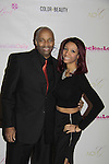 Shawn Cheatham and daughter Vanessa at Color of Beauty Awards hosted by VH1's Gossip Table's Delaina Dixon and Maureen Tokeson-Martin on February 28, 2015 with red carpet, awards and cocktail reception at Ana Tzarev Gallery, New York City, New York.  (Photo by Sue Coflin/Max Photos)