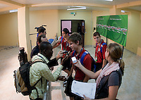 Alex Shinsky after the game. US Men's National Team Under 17 defeated Malawi 1-0 in the second game of the FIFA 2009 Under-17 World Cup at Sani Abacha Stadium in Kano, Nigeria on October 29, 2009.