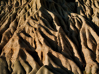 Erosion patterns in Red Rock Canyon State Park, California