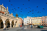 Sukiennice na Rynku Głównym w Krakowie, Polska<br /> Cloth Hall on the Market Square in Cracow, PolandThe Cracow Main Market.
