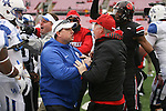 Kentucky Louisville coaches scuffle