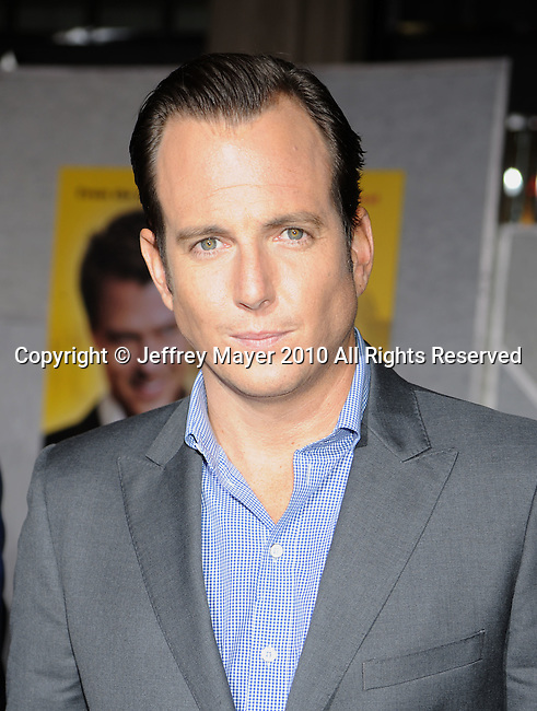 """HOLLYWOOD, CA. - January 27: Will Arnett attends the """"When In Rome"""" Los Angeles premiere at the El Capitan Theatre on January 27, 2010 in Hollywood, California."""