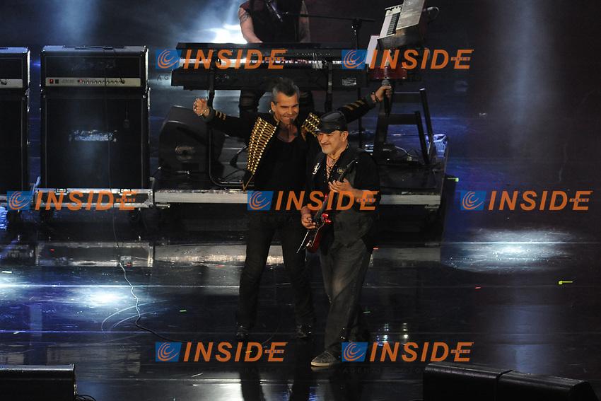 Piero Pelu', Litfiba<br /> Verona 05-06-2017 Arena <br /> Wind Music Awards 2017 <br /> Foto Alberto Anello/Photoring/Insidefoto