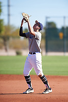 Joseph Scalzo (54), from Boise, Idaho, while playing for the Tigers during the Under Armour Baseball Factory Recruiting Classic at Red Mountain Baseball Complex on December 29, 2017 in Mesa, Arizona. (Zachary Lucy/Four Seam Images)