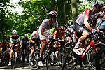 The peloton including Fabio Aru (ITA) UAE Team Emirates climb the Muur in Geraardsbergen during Stage 1 of the 2019 Tour de France running 194.5km from Brussels to Brussels, Belgium. 6th July 2019.<br /> Picture: Colin Flockton | Cyclefile<br /> All photos usage must carry mandatory copyright credit (© Cyclefile | Colin Flockton)