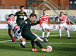 Kris Commons cuts the ball across the face of goal