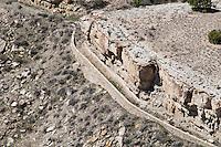 Abandoned aqueduct, west of Lake Pueblo