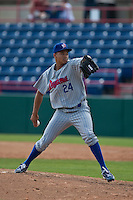 April 11th 2010: Chris Archer of the Daytona Cubs, the Florida State League High-A affiliate of the Chicago Cubs. In a game against the of the  Brevard County Manatees, the Florida State League High-A affiliate of the Milwaukee Brewers at Space Coast Stadium in Viera, FL (Photo By Scott Jontes/Four Seam Images)