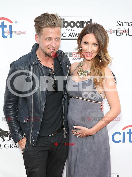 LAS VEGAS, NV - May 18 : Ryan tedder abd Wife pictured at 2014 Billboard Music Awards at MGM Grand in Las Vegas, NV on May 18, 2014. ©EK/Starlitepics