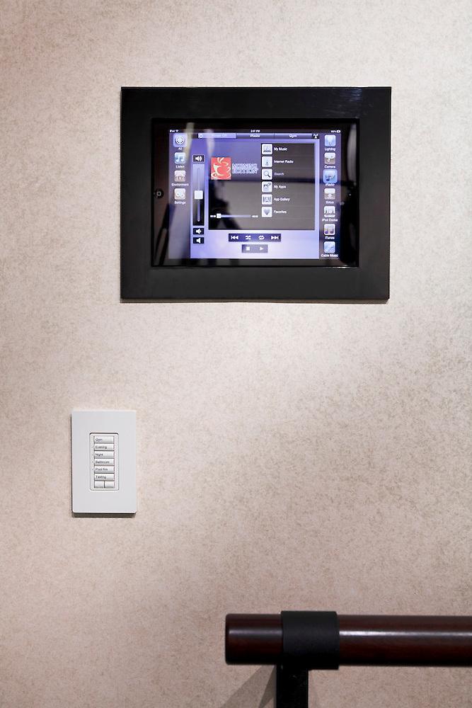 Savant iPad Audio Control