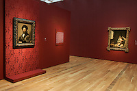 """""""Portrait of Baldassare Castiglione"""" by Raphael (left) and """"The Young Beggar"""" by Bertolomé Esteban Murillo at the Anne Cox Chambers Wing of the High Museum of Art. Over the next three years, the High Museum will feature hundreds of works of art from the Musée de Louvre."""
