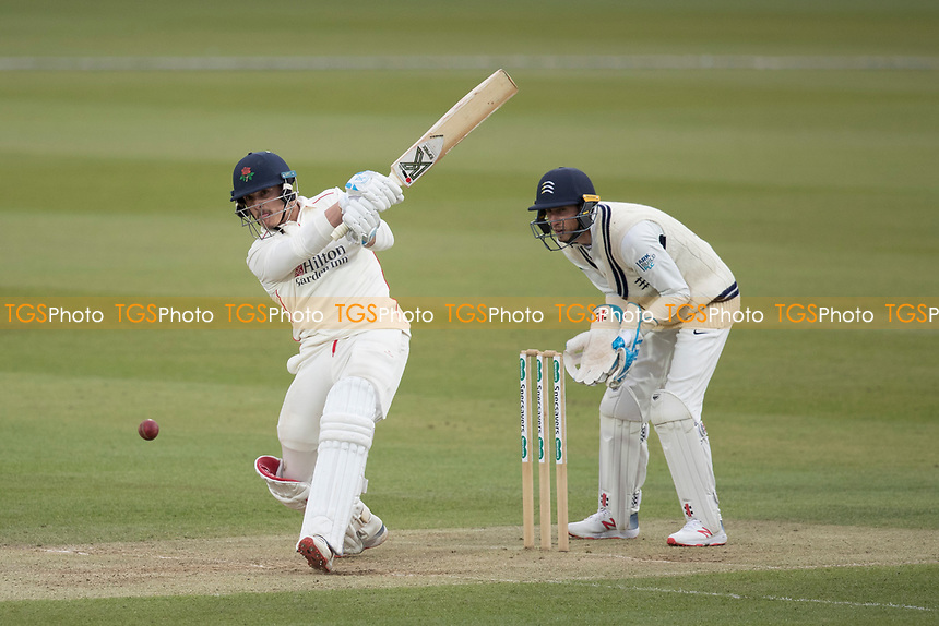 Rob Jones of Lancashire CCC pulls a short delivery from Malan for four during Middlesex CCC vs Lancashire CCC, Specsavers County Championship Division 2 Cricket at Lord's Cricket Ground on 12th April 2019