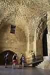 Israel, Acco, the Crusader Knights' Halls