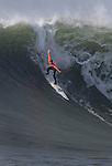 Chris Bertish wins the Maverick surfing competition for 2010 in Half Moon Bay, California.