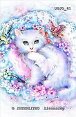 Marie, REALISTIC ANIMALS, REALISTISCHE TIERE, ANIMALES REALISTICOS, paintings+++++,USJO61,#A# ,Joan Marie cat