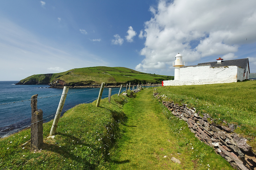 Dingle Harbour Lighthouse, Dingle (An Daingean), Dingle Peninsula, County Kerry, Republic of Ireland