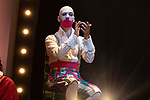 Artist Fernando Soto during the performance of Chufla. September 25, 2019. (ALTERPHOTOS/Johana Hernandez)