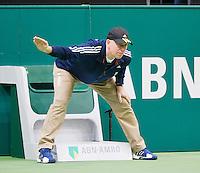 14-02-13, Tennis, Rotterdam, ABNAMROWTT,  Juan Martin Del Potro - Julien Benneteau