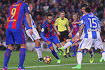 19.02.2017 Barcelona. La liga game 23. Picture show Neymar in action during game between FC Barcelona against Leganes at Camp Nou