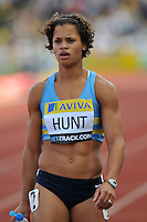 Photo: Tony Oudot/Richard Lane Photography..Aviva London Grand Prix. 24/07/2009. .women's 400m B Final. .Dawn Hunt of GB.