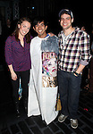 Kara Lindsay,  & Jeremy Jordan.attending the Actors' Equity Broadway Opening Night Gypsy Robe Ceremony for Aaron J. Albano in.'Newsies - The Musical' at the Nederlander Theatre in NewYork City on 3/29/2012