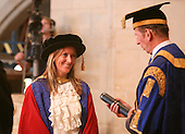 Degree ceremony with the Chancellor, HRH the Duke of Kent, University of Surrey.