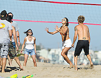 Alessandra Ambrosio shows off her bikini body and spends time with daughter_Anja and friends on the beach in Malibu. Los Angeles, California on 8.7.2012..Credit: Correa/face to face.. /MediaPunch Inc. ***FOR USA ONLY*** ***Online Only for USA Weekly Print Magazines***