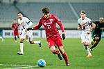 Shanghai FC Midfielder Yu Hai in action during the AFC Champions League 2017 Group F match between Shanghai SIPG FC (CHN) vs Western Sydney Wanderers (AUS) at the Shanghai Stadium on 28 February 2017 in Shanghai, China. Photo by Marcio Rodrigo Machado / Power Sport Images