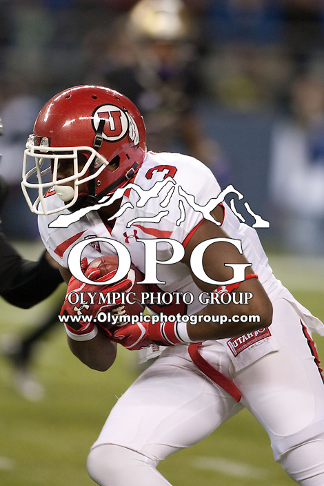 NOV 10, 2012:  Utah's Charles Henderson against Washington.  Washington defeated Utah  34-15 at CenturyLink Field in Seattle, WA...