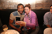 J Reese and Kristin Squillant attend the private screening of ABC's new show Selfie at the Wythe Hotel's cinema in Brooklyn on September 24, 2014