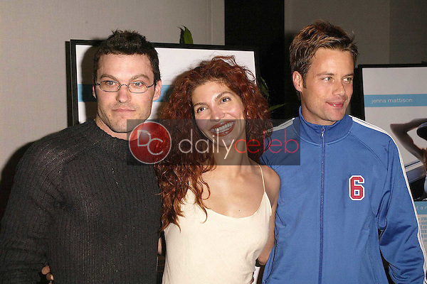 Brian Austin Green, Jenna Mattison and Brad Rowe
