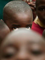 Local children at a village in Nyungwe National Park, Rwanda