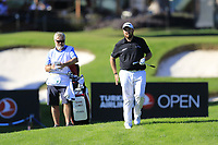 Shane Lowry (IRL) in the rough on the 17th hole during Friday's Round 2 of the 2018 Turkish Airlines Open hosted by Regnum Carya Golf &amp; Spa Resort, Antalya, Turkey. 2nd November 2018.<br /> Picture: Eoin Clarke | Golffile<br /> <br /> <br /> All photos usage must carry mandatory copyright credit (&copy; Golffile | Eoin Clarke)