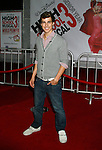 "LOS ANGELES, CA. - October 16: Actor Cody Linley arrive at the Los Angeles Premiere of ""High School Musical 3"" at the Galen Center at the University Of Southern California on October 16, 2008 in Los Angeles, California."