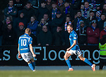 23.02.2020 St Johnstone v Rangers: Callum Hendry scores for St Johnstone and celebrates