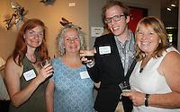 NWA Democrat-Gazette/CARIN SCHOPPMEYER Sara Segerlin (from left), Jo Ann Kaminsky, Brady Plunger and Pearl Brick help support the Fayetteville Underground.