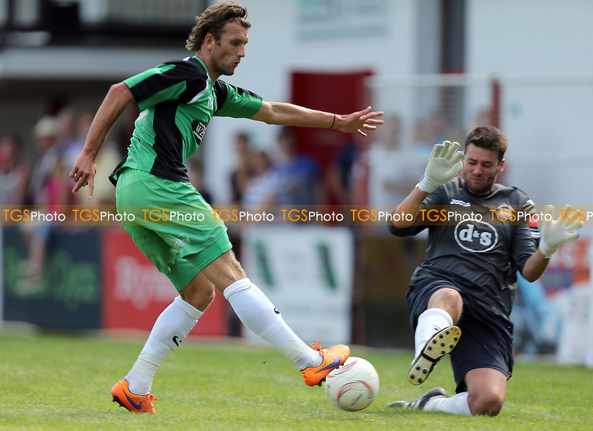 Christian Doidge of Dagenham and Redbridge during Chatham Town vs Dagenham & Redbridge, Pre-Season Football Friendly at the Sports Ground, Chatham, Kent, England on 01/08/2015