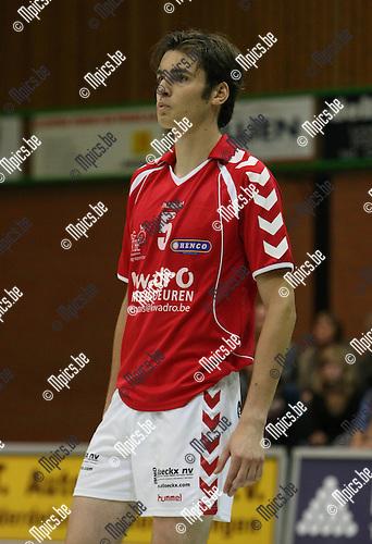 2009-10-10 / Volleybal / seizoen 2009-2010 / Bovoc Bouwel / Niels Van Dijck..Foto: mpics