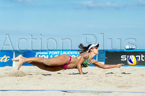 29.09.2015-04.10.2015 Fort Lauderdale, Florida, USA. Swatch Beach Volleyball Beach volleyball FIVB World Tour Finals 2015.  Barbara Seixas De Freitas (BRA)