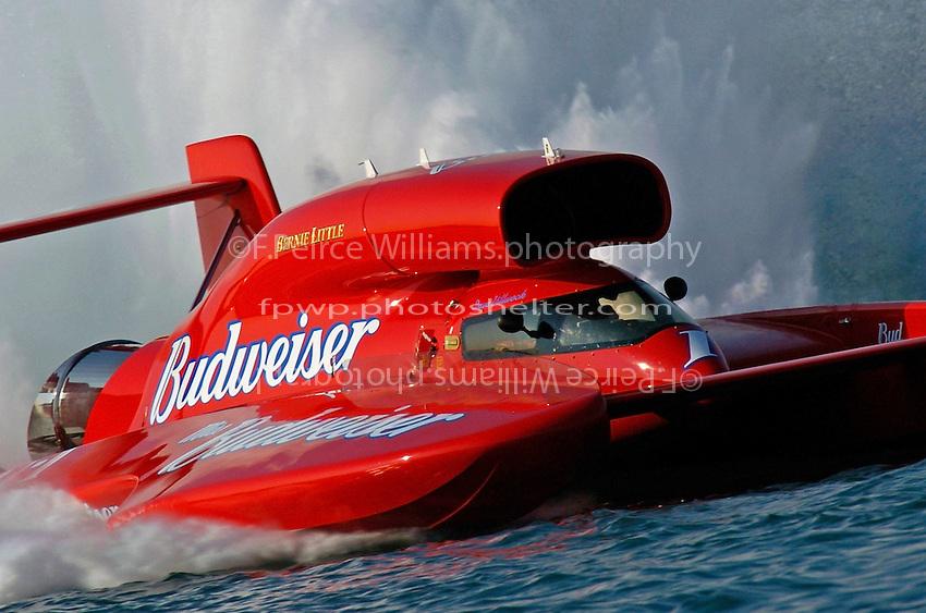 """Dave Villwock, U-1 """"Miss Budweiser"""""""