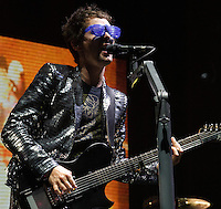 Muse playing at Voodoo Festival 2010 in New Orleans on Day 1.