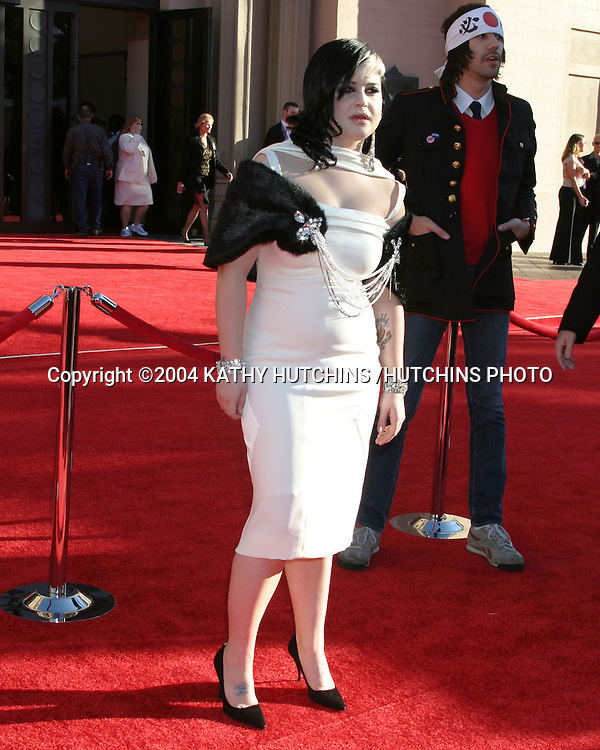 ©2004 KATHY HUTCHINS /HUTCHINS PHOTO.AMERICAN MUSIC AWARDS.LOS ANGELES, CA.NOVEMBER 14, 2004..KELLY OSBOURNE .