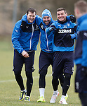 Jon Daly, Kris Boyd and Lee McCulloch