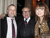COPY BY TOM BEDFORD<br /> THE COPYRIGHT OF THIS PICTURE IS UNKNOWN<br /> Pictured L-R: Gareth Crabbe with actor Ray Winstone at the opening of The Two Worlds of Charlie F in London<br /> Re: Inquest at Swansea Coroner's Court, into the death of former soldier Gareth Crabbe who committed suicide.