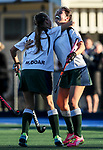 Action during the Auckland Secondary Schools Girls Hockey Final between St Cuthbert's College and Diocesan College, St Cuthbert's, Auckland, New Zealand. Thursday 8 June 2017. Photo:Simon Watts / www.bwmedia.co.nz